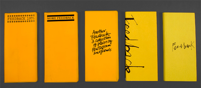 "Alan Fletcher's ""Feedback"""