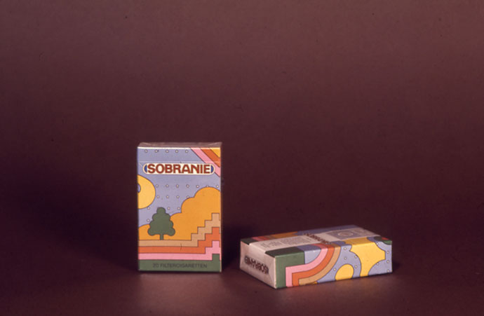 More packaging by Seymour Chwast
