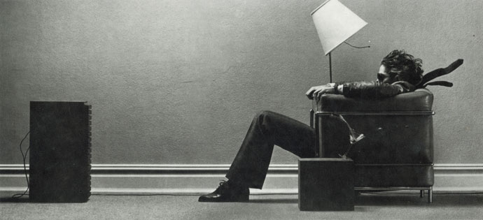 The Maxell blow-away guy