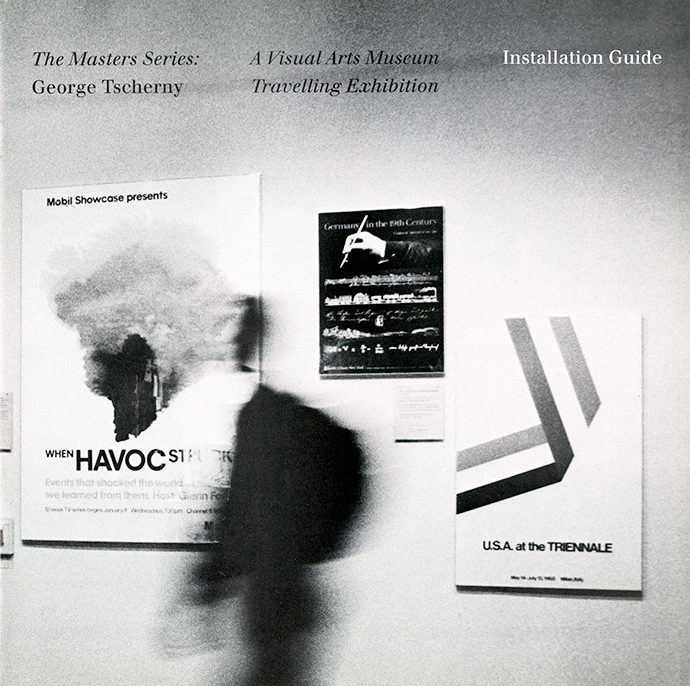 Cover of exhibition installation instructions