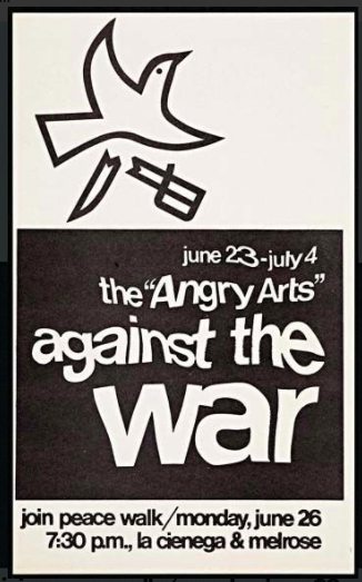 The Angry Arts Against the War