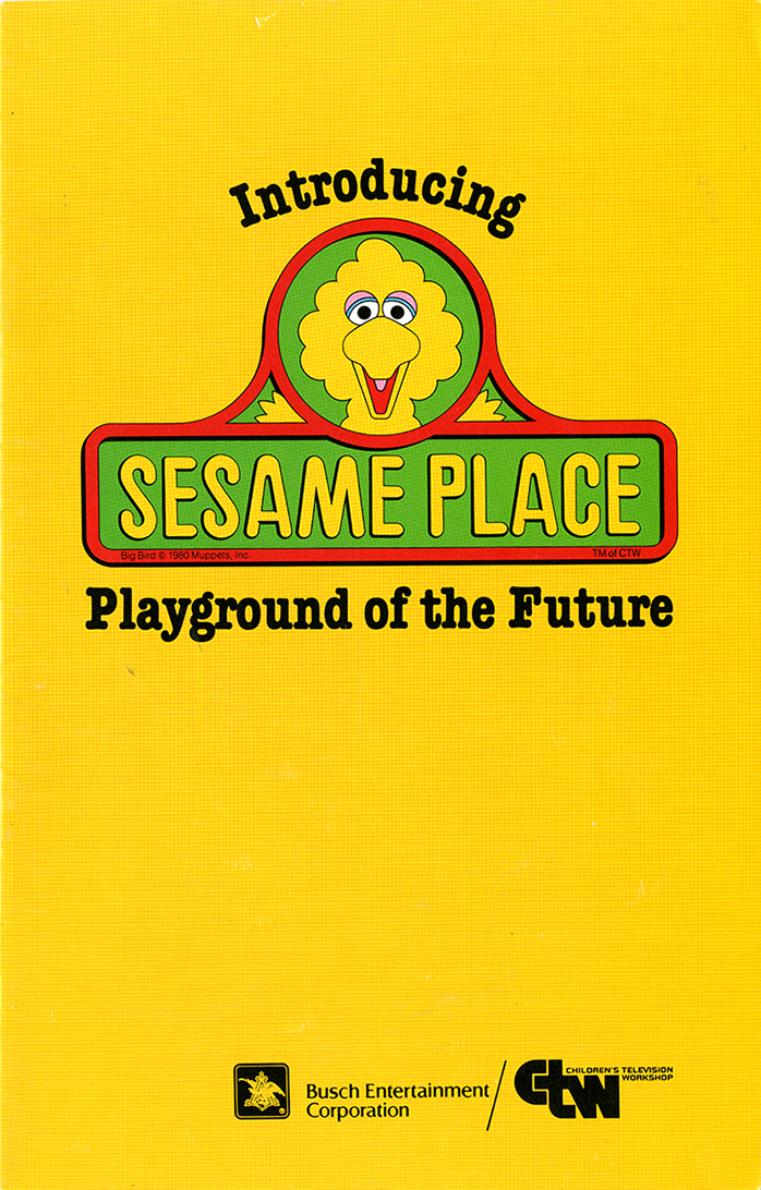 Brochure for Sesame Place