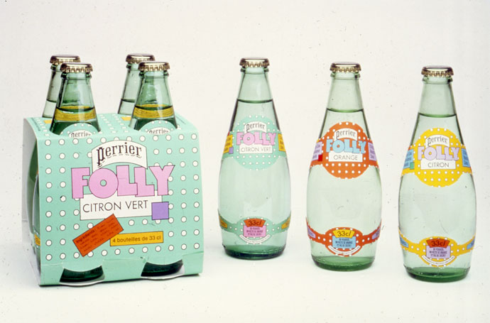 Effervescent packaging by Seymour Chwast