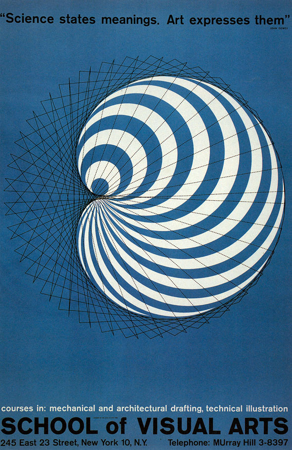 Black and white schematic against a blue background, showing a spiral shape.
