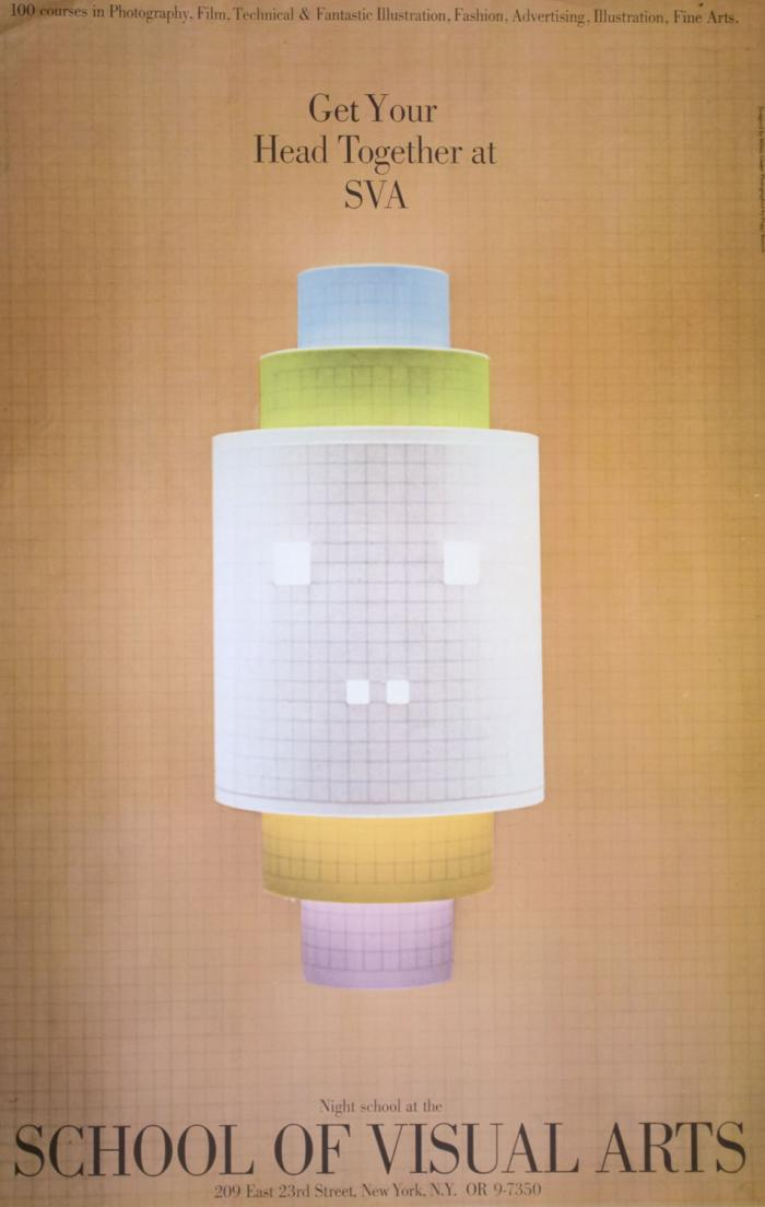 Pastel cylinders made of graph paper and stacked on top of each other, against a background of graph paper.